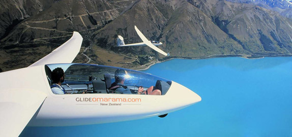 Omarama, the home of gliding in NZ.