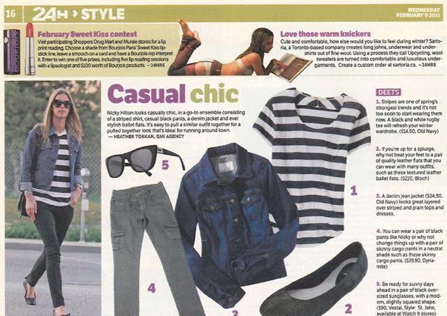 24h (Feb 9 2011. Style , pg 16)