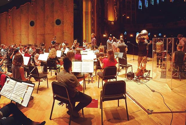 Rehearsal went great!!! See you at the show! 6pm #nobsbrass with the @rvasymphony !!!