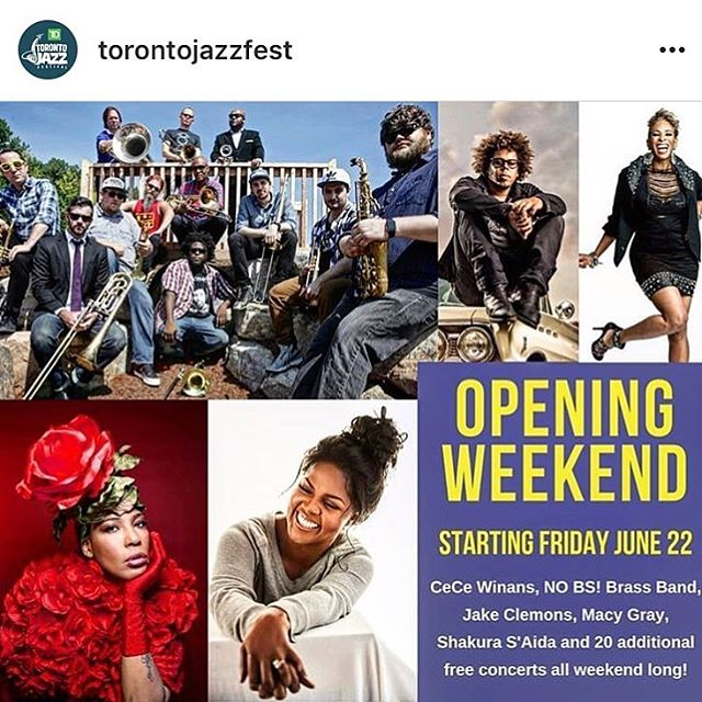 #nobsbrass is headed to CANADA!!!!! The @torontojazzfest is where we will be this SATURDAY!!!!!