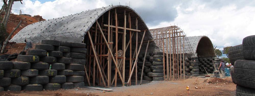 Tire Vault House