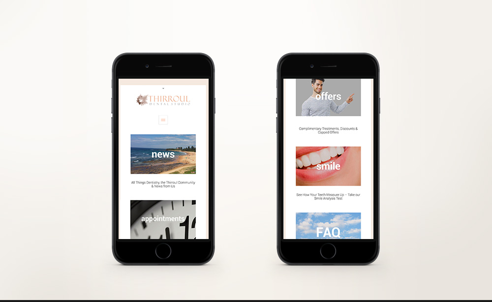 © ChrisRaeDesign.com Sydney Brand Identity Graphic Web Print Design Thirroul Dental Studio Dentist 03.jpg