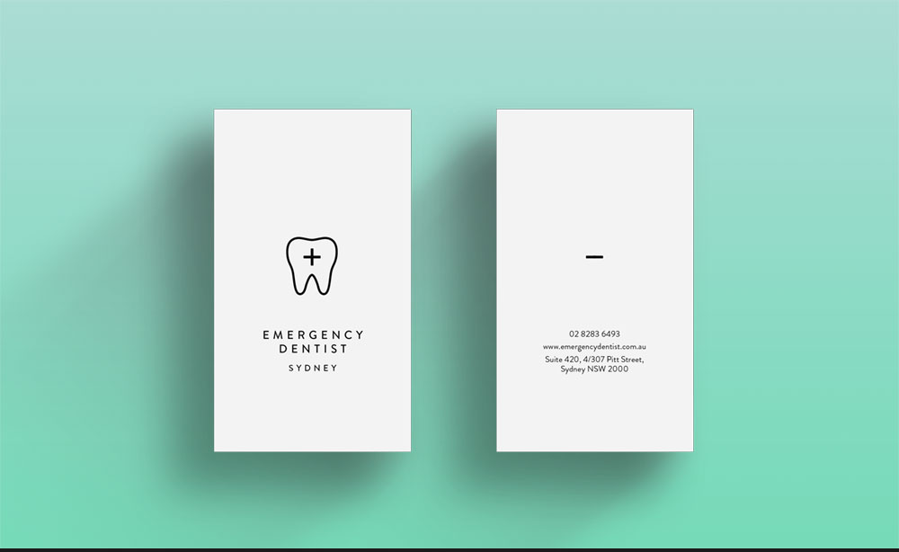 © ChrisRaeDesign.com Sydney Brand Identity Graphic Web Print Design Creative Direction Chris Rae Design Emergency Dentist Sydney 01.jpg