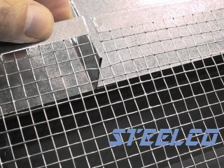 Installing Steelco Gutter Screen On Metal Roofs With
