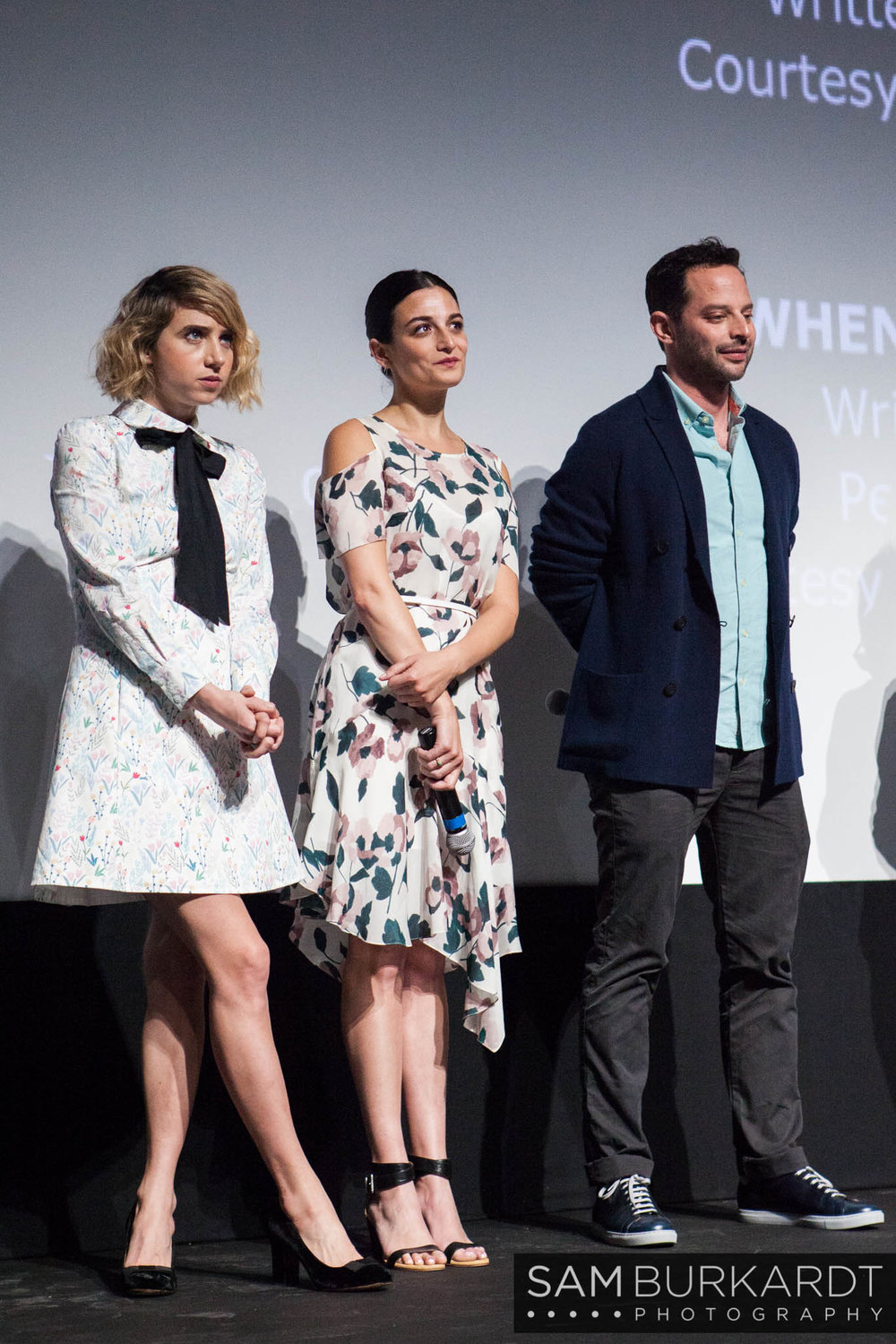 Zoe Kazan, Jenny Slate and Nick Kroll Q&A for 'My Blind Brother' at SXSW 2016