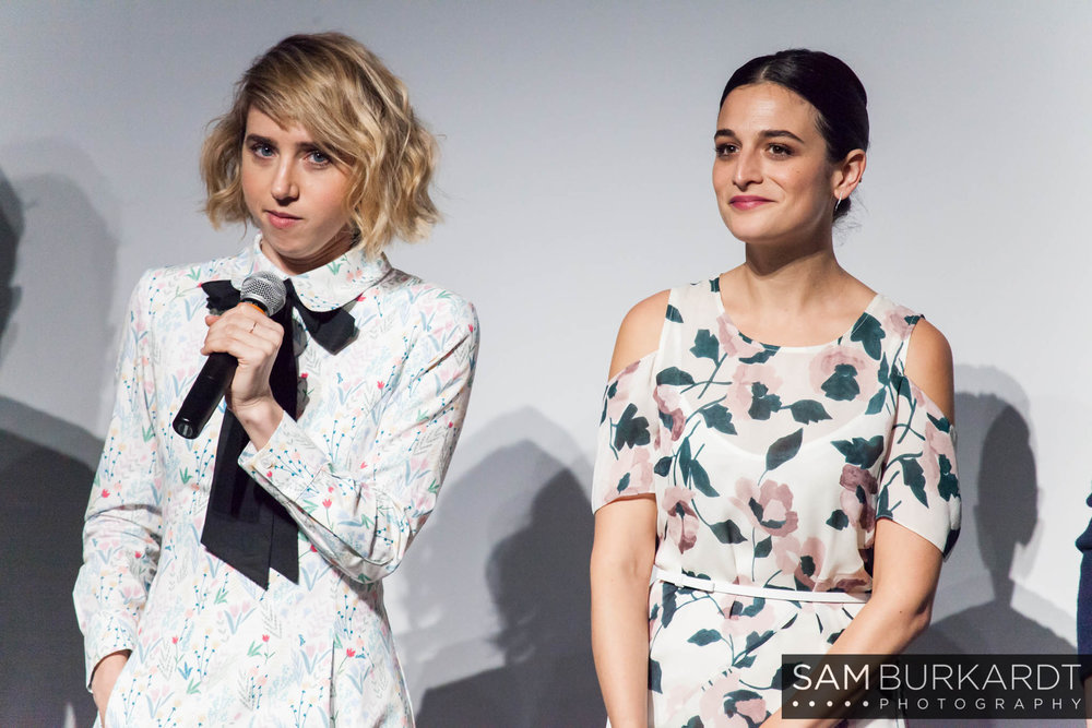 Zoe Kazan and Jenny Slate Q&A for 'My Blind Brother' at SXSW 2016