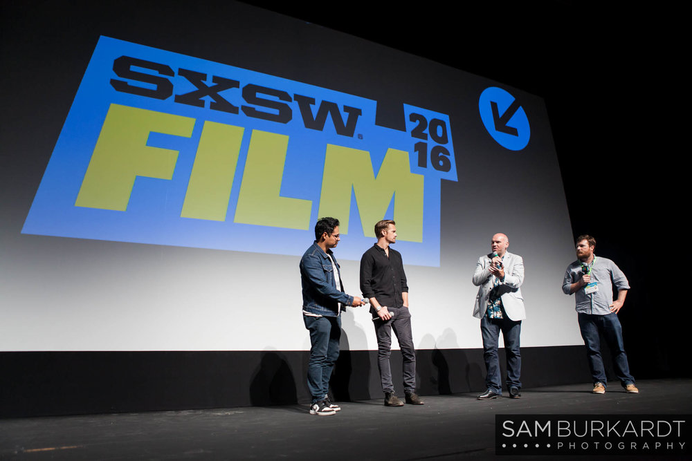 Alexander Skarsgard and Michael Peña Q&A for 'War on Everyone' at SXSW 2016