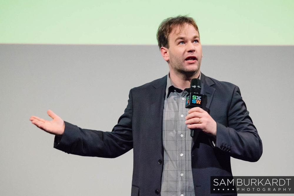 Mike Birbiglia at 'Don't Think Twice' movie premiere at SXSW 2016