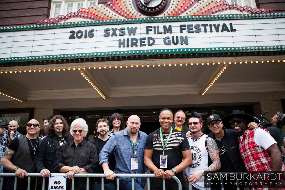SXSW 2016 'Hired Gun' movie premiere