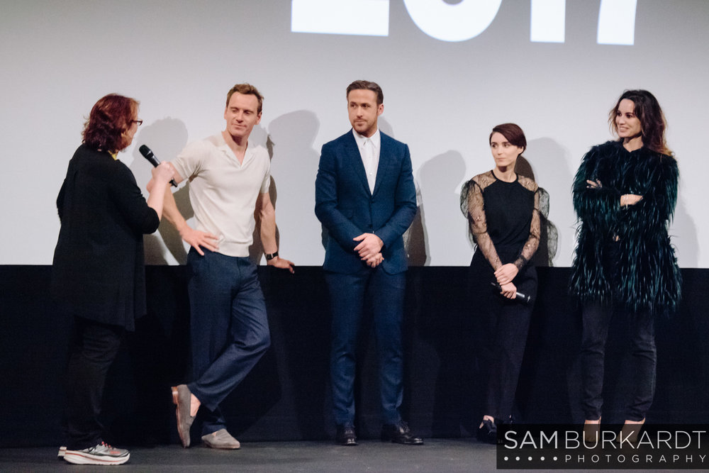 Michael Fasbender, Ryan Gosling, and Rooney Mara - Song to Song premiere at SXSW