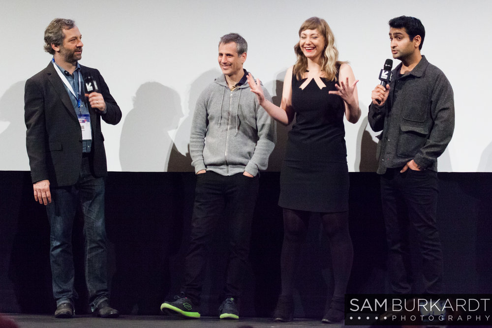 Judd Apatow, Emily V. Gordon, Kumali Nanjiani - The Big Sick movie premiere