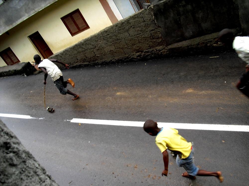 Fontalema children in Assomada, Cabo Verde