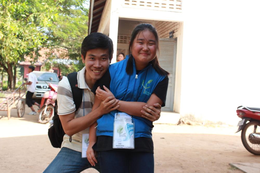 Language Friends & PUC Volunteer Teams 랭프유스제주와 캄보디아 대학생봉사단