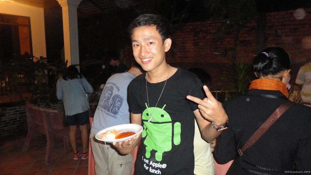 Dinner Party 캄보디아 대학생봉사단,쿡찬초등학교 선생님들, 원어민 후원자들과의 만남