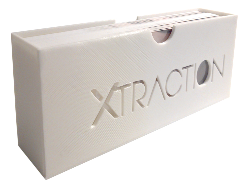 © 2016, Louise Levergneux, 3D printed slipcase for Xtraction