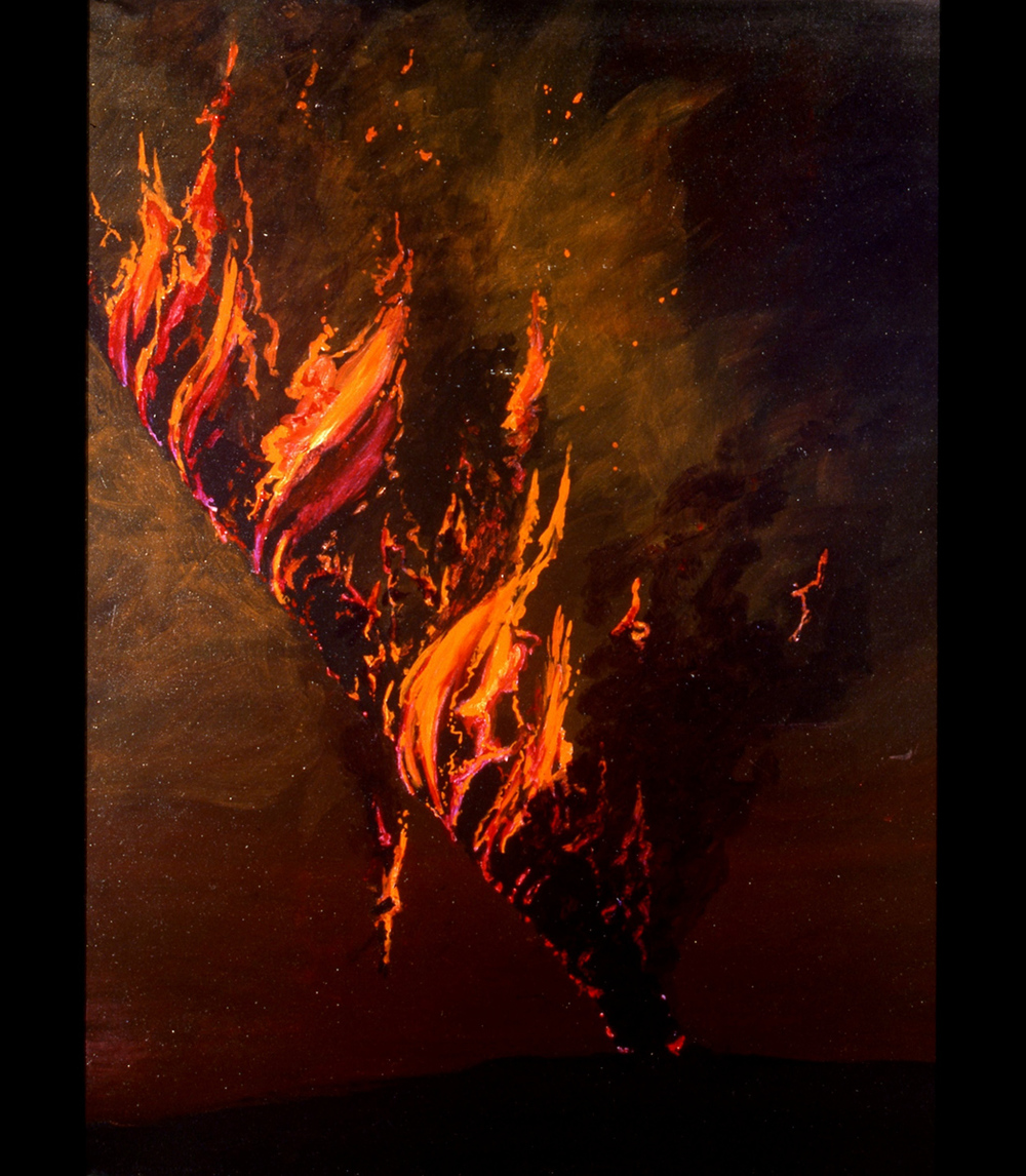 1998 © Thomas Parker Williams, Fire Book, detail
