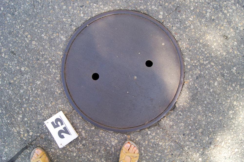 © 2016 Louise Levergneux,Manitoba manhole cover