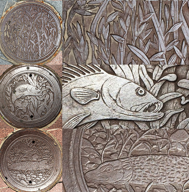 © 2016 photos by Will Crain, graphics by Michelle Ward,  Hail Minnesota  design by Kate Burke—image 1 OATS and detail; image 2 WALLEYE and detail; 4 NORTHERN PIKE and detail