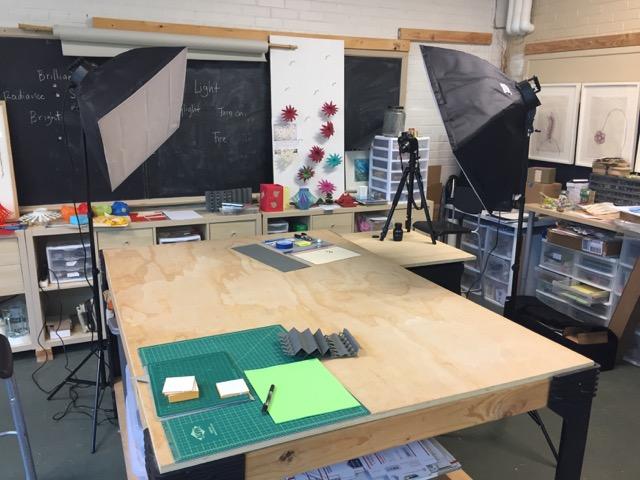 © 2017 Helen Hiebert,filming set-up