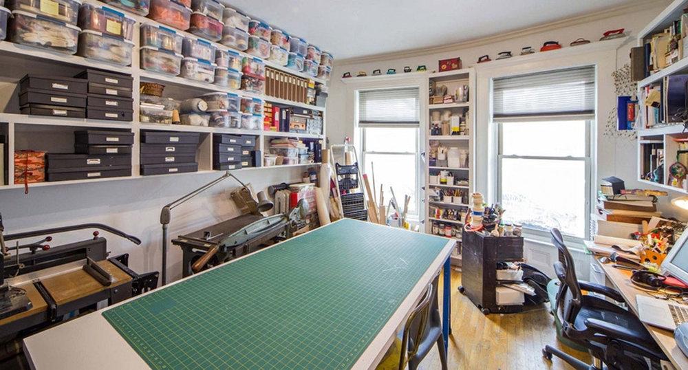 © 2018 Miriam Schaer, Miriam home studio