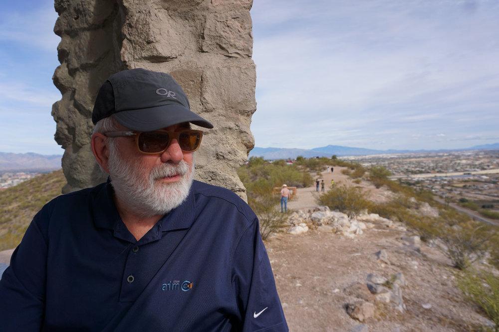 © 2018 Louise Levergneux. Sentinel Peak Park, Tucson, Arizona. /  Le parc Sentinel Peak, Tucson, Arizona.