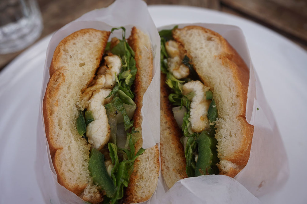 © 2018 Louise Levergneux. This sandwich was absolutely delicious! /  Ce sandwich est absolument délicieux!