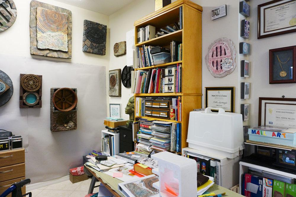 © 2018 Louise Levergneux. Bobbi Mastrangelo's studio.