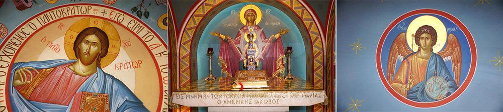 """© 2019 Louise Levergneux. The St Photios Chapel is called """"The Jewel of St. George Street."""" /  La chapelle St Photios est appelée « le bijou de la rue St-George »."""