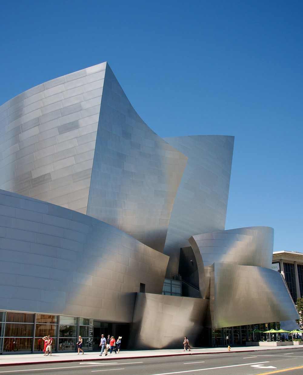 Walt Disney Concert Hall. Photo by Debbie Zeitman