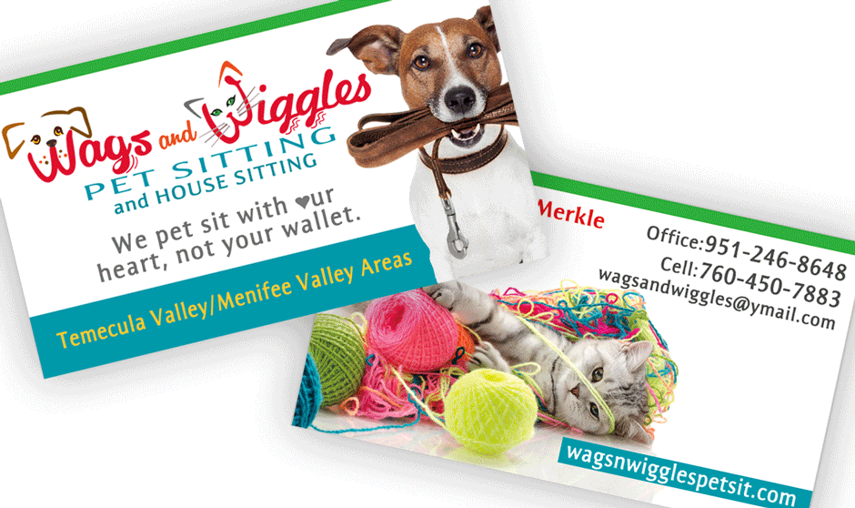 Wags and Wiggles Brand Identity — Bling Advertising Design