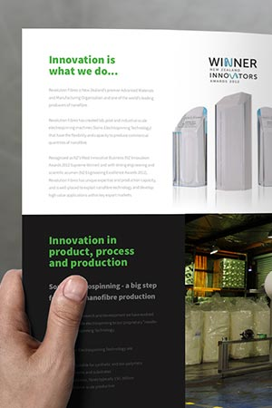 Revolution Fibres Services Brochure