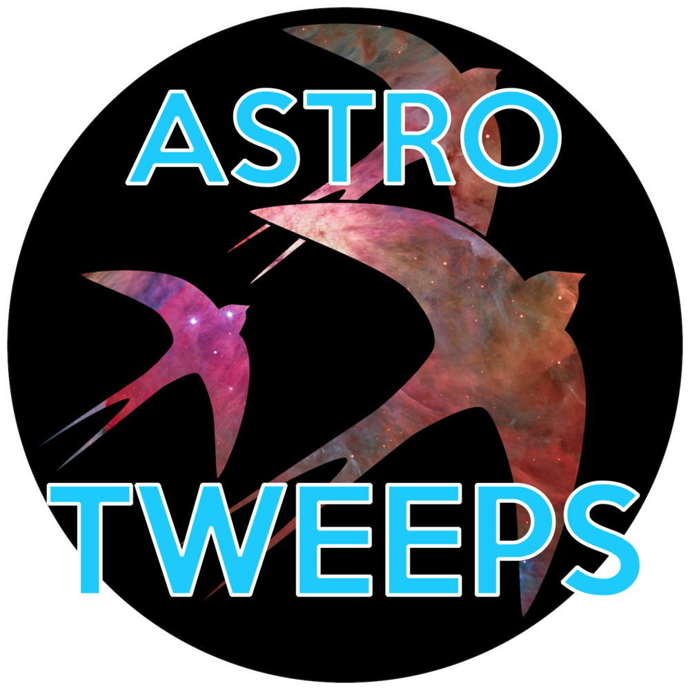 "Logo for  ""astrotweeps"" 2014 AAS Hack Day project."