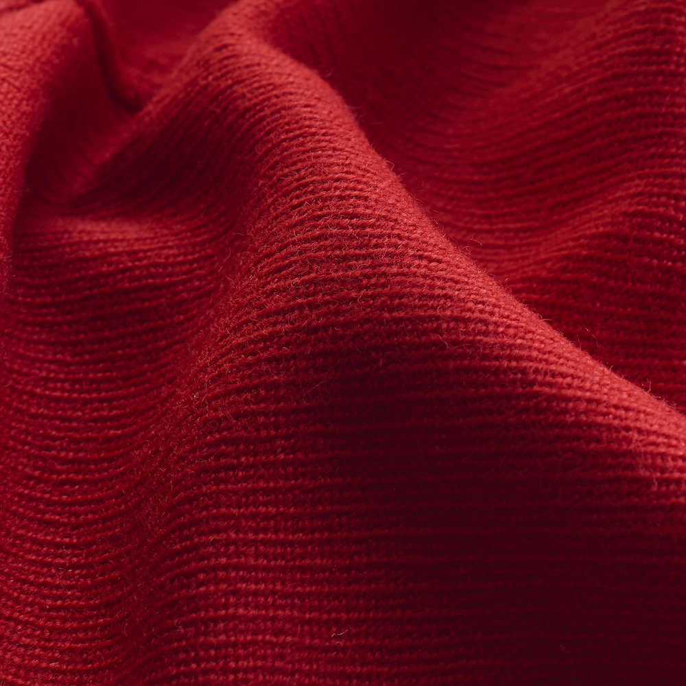 Wool Twill Fabric : Red.jpg