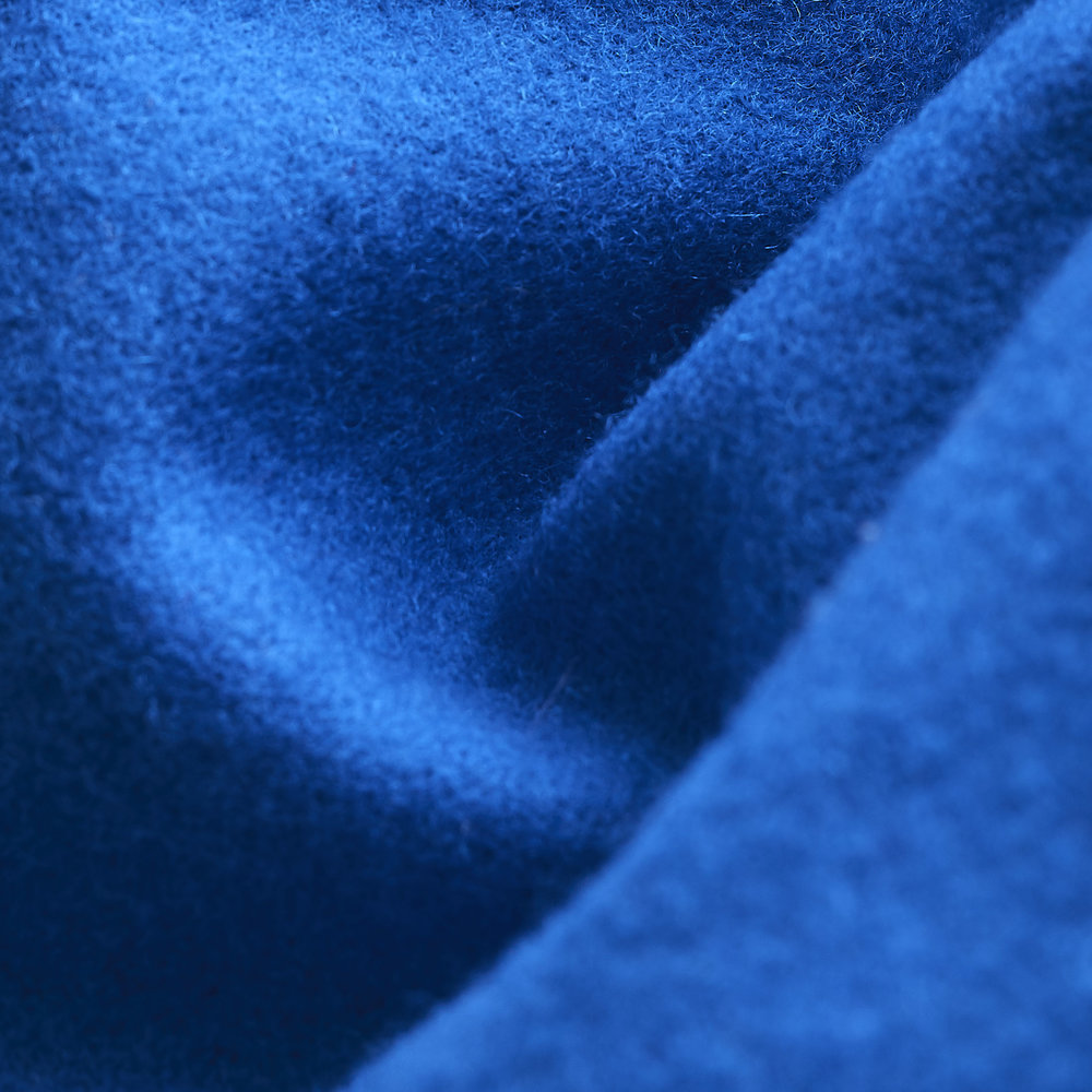 Wool Melton Fabric : Blue.jpg
