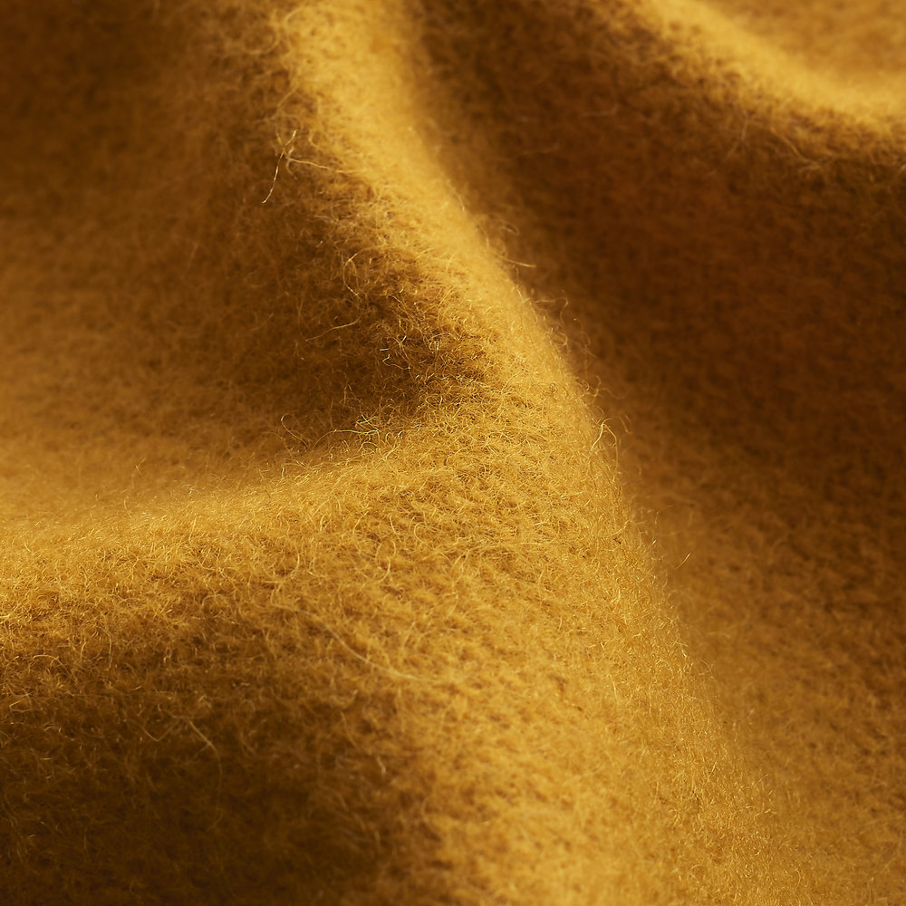 Wool Melton Fabric : Yellow.jpg