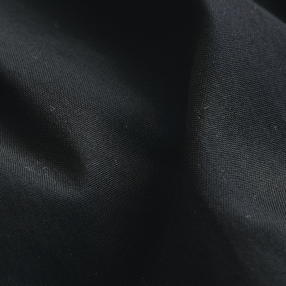 Cotton Oxford Fabric : Black.jpg