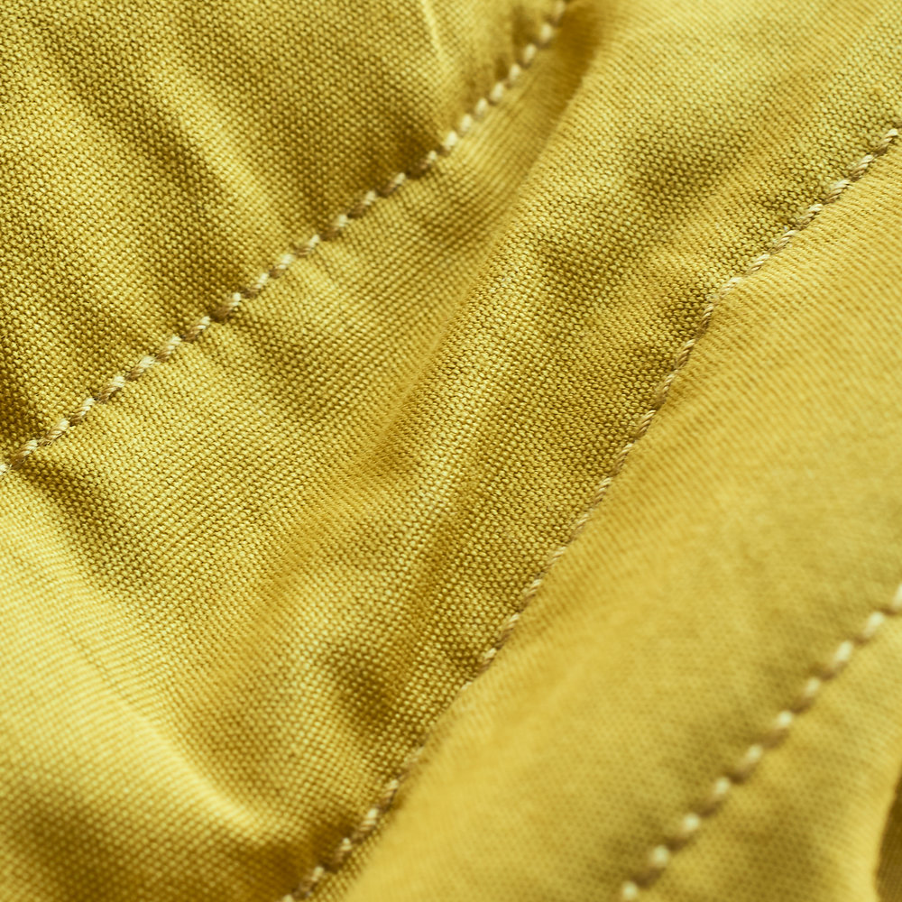 Quilted Cotton Fabric : Yellow.jpg