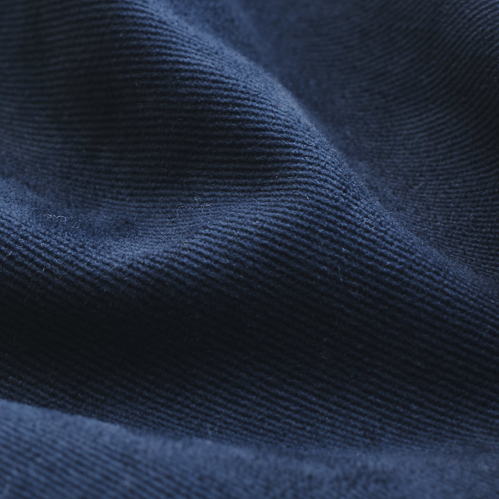 Cotton Twill Fabric : Navy Front.jpg