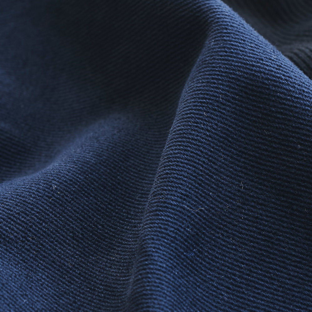Wool Twill Fabric : Navy.jpg