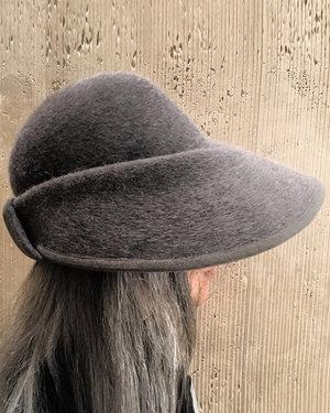 5189ed97599d10 CLOTHILDE SILVER.jpg. CLOTHILDE BONNET HAT. 350.00. Harriet.jpg. HARRIET  WIDE BRIM HAT WITH EAR FLAPS