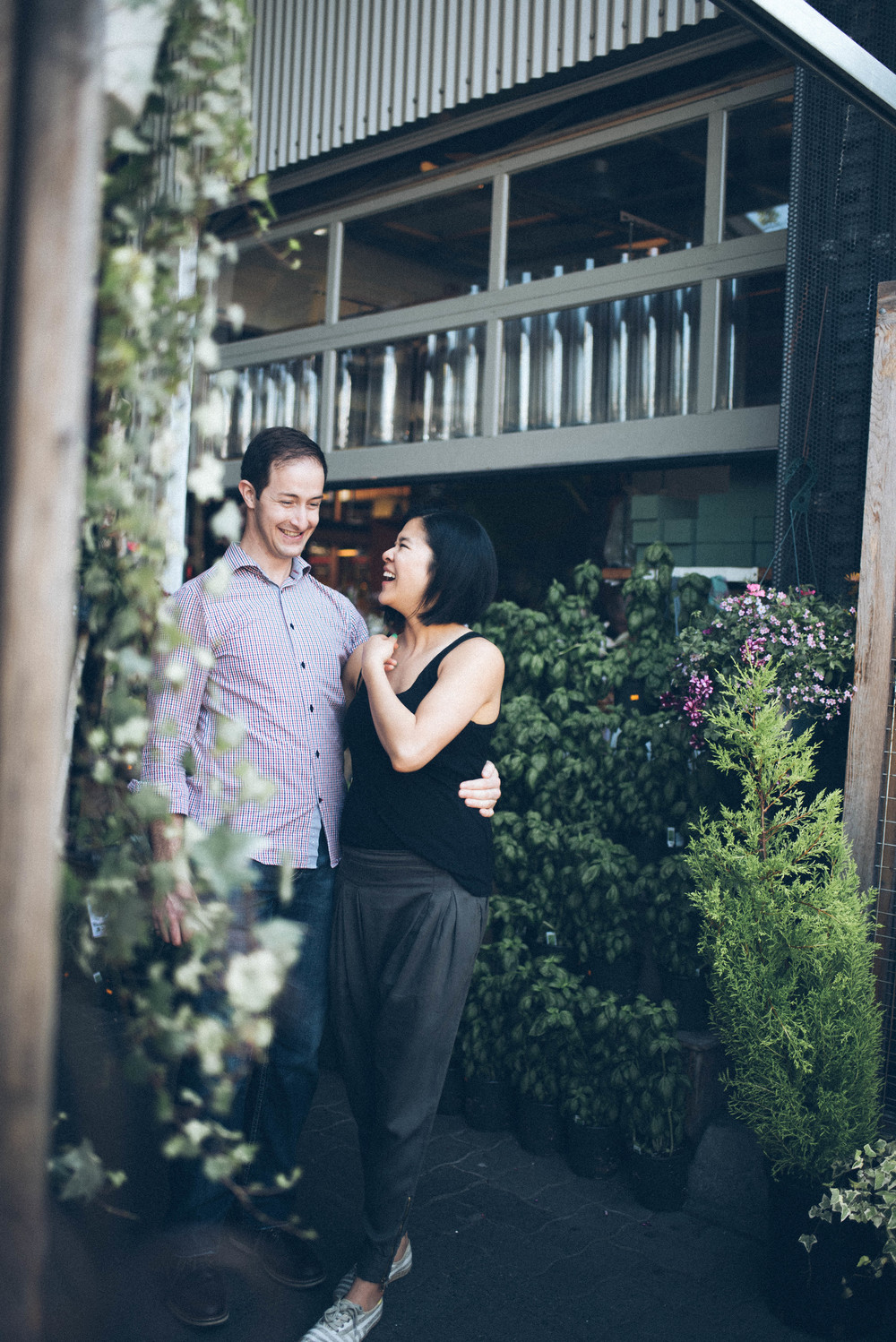 Granville Island Engagement Couple Connection Portrait Photography Session by Jo+Bo Vancouver Thailand Destination wedding lifestyle family photographer