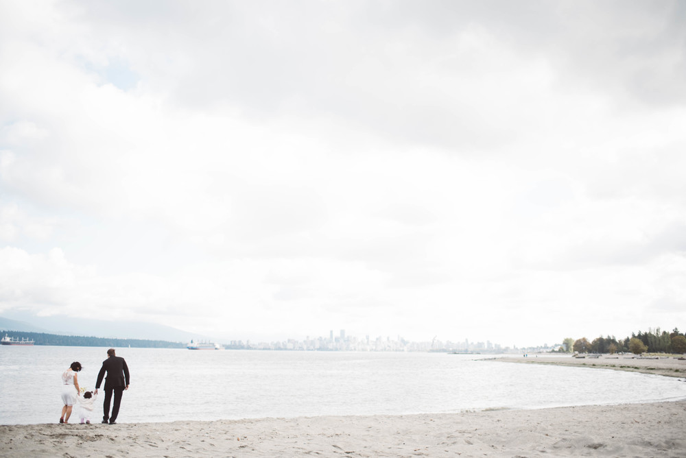 Ronette and Hugo Beach Elopement Wedding Vancouver Spanish Banks by Jo+Bo Photography Destination Vancouver Thailand Wedding Photographer