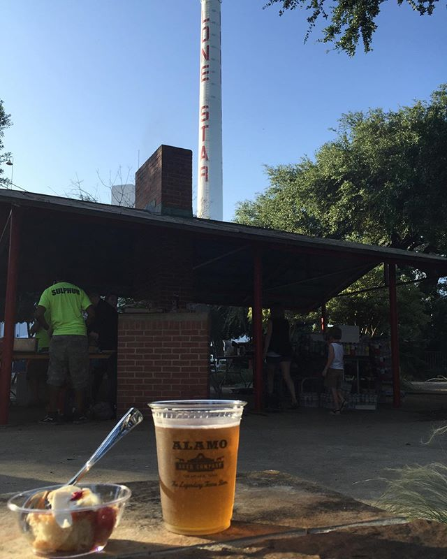 Celebrating SA @hotwellsconservancy Harvest Fest @brd_eng @alamobeerco @lonestarbeer @stefanbowers @rosellatx @southerleigh @the_cookhouse @tbasatx @brigidsatx