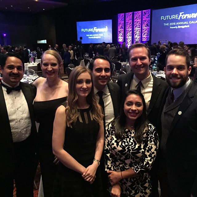 Proud to be part of the @stayintheloop board being recognized tonight @sachamber gala #futureforward #EngageLeadTransform