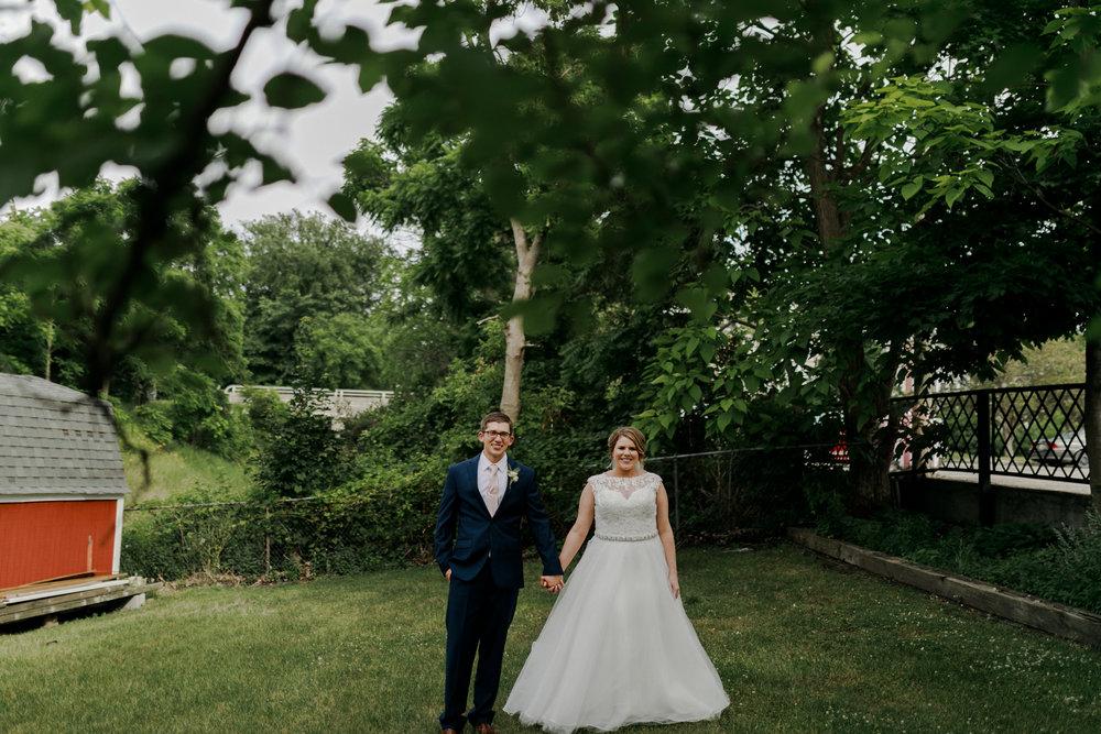 SEAN + LIZ | CRYSTAL GARDENS WEDDING — Amber Marie Photography