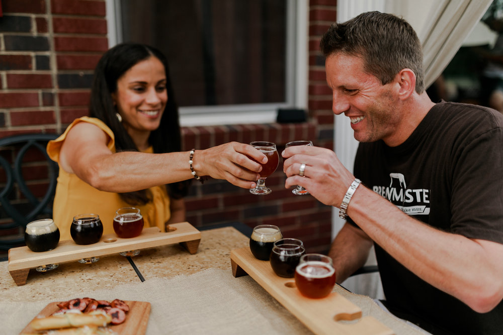 LONG FAMILY - there really isn't much better then getting to come into client's homes and capture them in their chill spots, doing their thing and being themselves. And to top all of that off, Brian brews his own beer and I got some samples. Family, fun and BEER (the way to my heart)!
