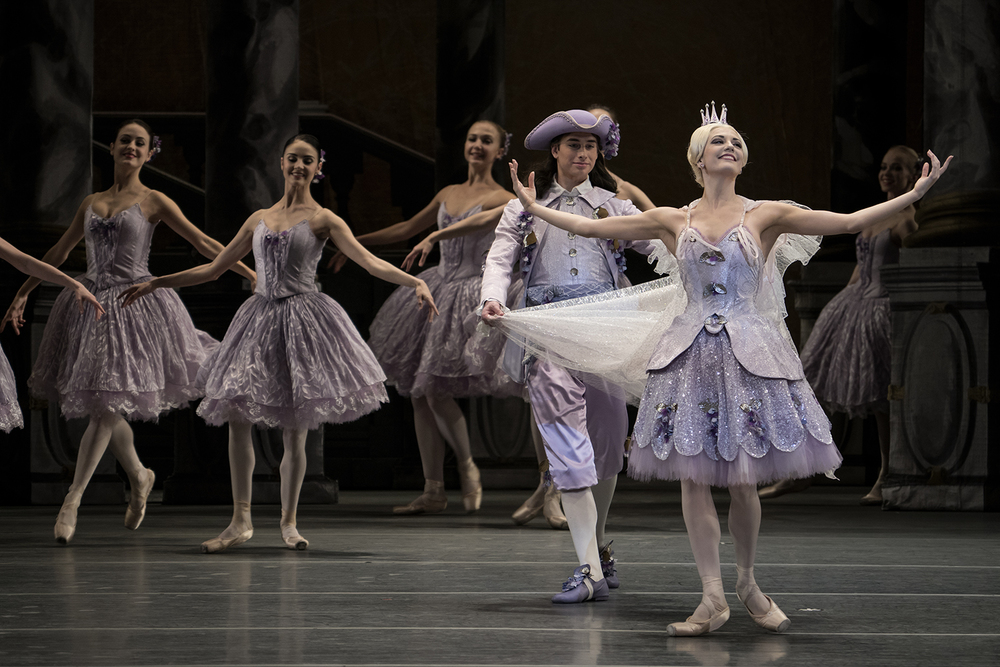 The American Ballet Theater performs in the first act of The Sleeping Beauty on Thursday, Mar. 31, 2016 at the Detroit Opera House in Detroit. Tim Galloway/Special for DFP