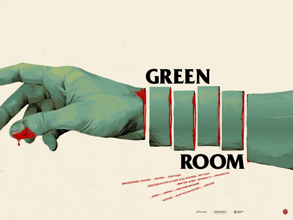 GreeN ROOM - Mondo / A24limited edition, screen-printed film poster.