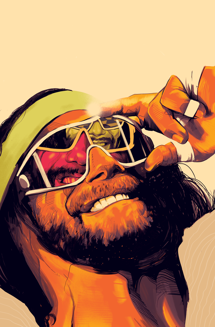 WWE #1 - Boom Studios! / WWEVariant cover to Boom Studios!' first WWE story: 'WWE: Then, Now, Forever.'