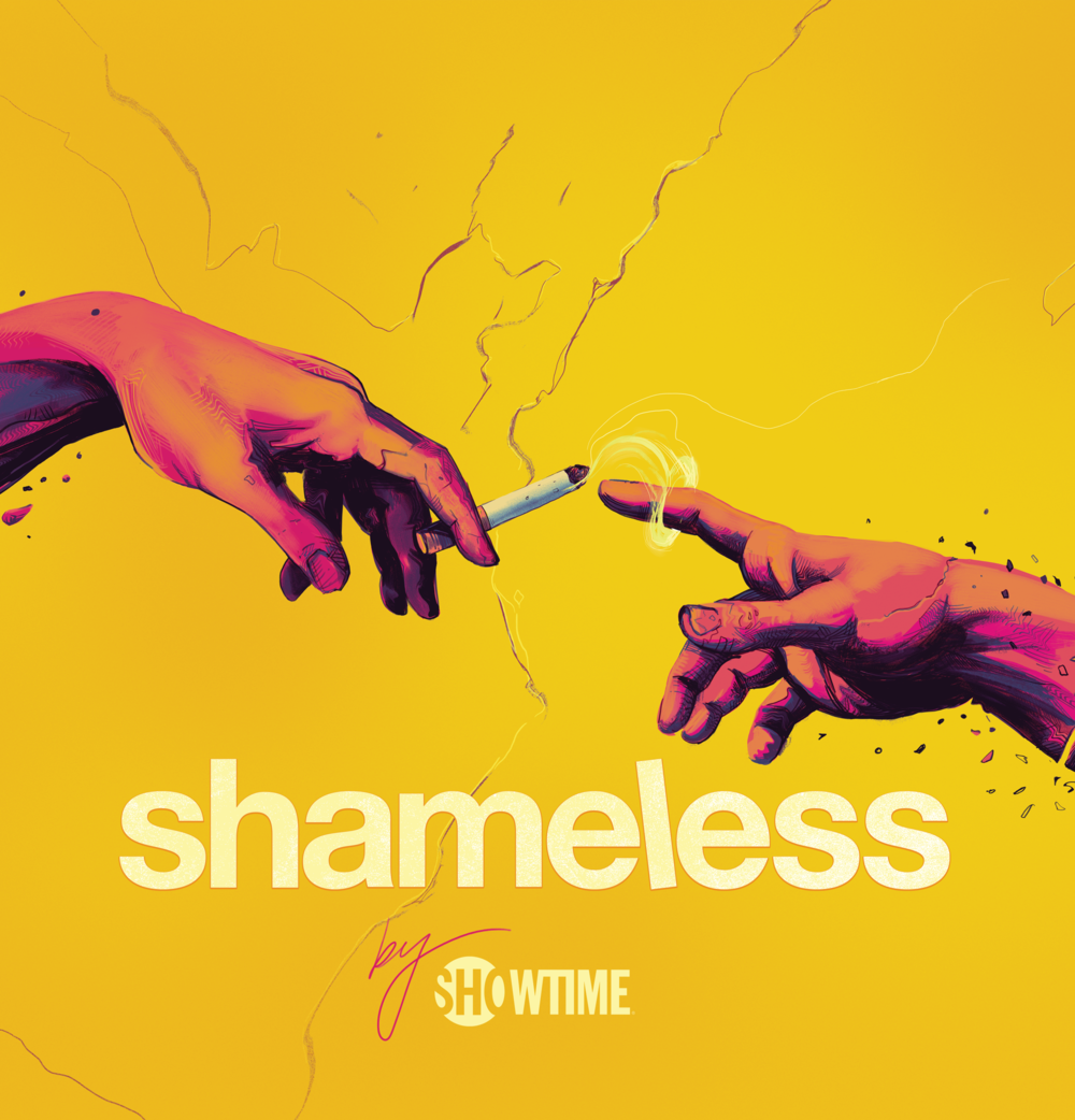 SHOWTIME AT SXSW - Mondo/ ShowtimeArtwork for Showtime's 2018 SXSW presence, featuring Shameless, SMILF, Ray Donovan, Homeland, The Chi, and Billions on bus wraps, signage, flyers, posters, tote bags, bikes, and all sorts of stuff.